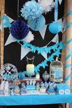 Vintage High Tea Tiffany Blue Decorations Lolly Buffet