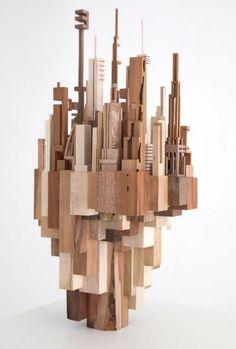 City Core, various wood 2014 - McNabb & Co.   studio
