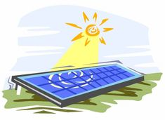 The Basics components of Solar Power System for Producing Electricity