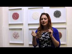 ▶ Meredith Woolnough chats about her recent exhibition Akin @ TimelessTextiles Gallery - YouTube