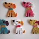 Crocheted Applique - 669 unique products to buy online at DaWanda
