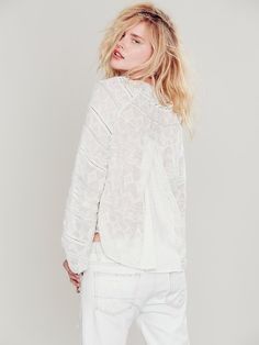 Free People Only in My Dreams Peasant Blouse at Free People Clothing Boutique