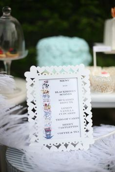 Bridal Tea Party Ideas | Found on stylemepretty.com