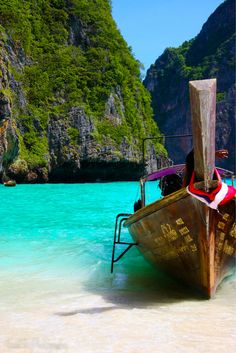 Koh Phi Phi, Thailand... loved this place and cannot wait to go back!!