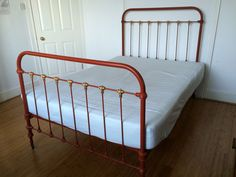 Cast Iron Bed Frame and Double Matress in Home, Furniture & DIY, Furniture, Beds & Mattresses | eBay