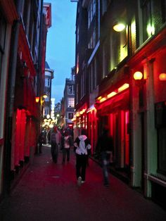 Amsterdã - Red Light District