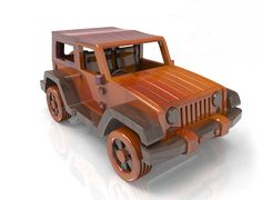 Jeep  Wrangler Wood Toy Plan For plan set Email:Lloydwatson100@gmail.com