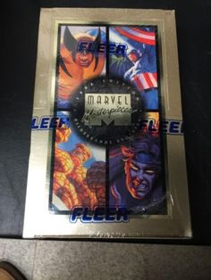 1994 #edition #fleer marvel #masterpieces trading card box factory sealed!! 36 pa,  View more on the LINK: 	http://www.zeppy.io/product/gb/2/252231219467/