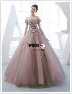 Wholesale Vestidos De Fiesta New 2017 Sweet 15 Dress Dust Pink Off-shoulder Satin Tulle Quinceanera Ball Gown with Scattered Flowers