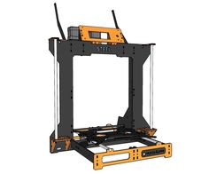 The RGB STEEL 3D Printer is intended to be a nice looking, low cost, strong carbon steel frame, compact, color mixing, easy to assemble reprap 3D printer.The machine is a redesign of the famous steel frame P3Steel 3D printer, with the advantage that now it can be equipped with a Diamond Hotend that allows for color mixing 3D printing, and lodge at least 5 bowden extruders for even more color mixing.This instructables also servers on how to install a diamond hot end onto any reprep like…