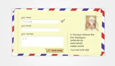 Creative Envelope Contact Form UI PSD - http://www.welovesolo.com/creative-envelope-contact-form-ui-psd/