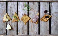 Nordic crisp bread with seeds & wholegrain