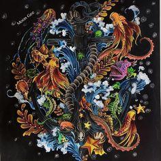 #Repost @moongeemg ・・・ Imagimorphia #imagimorphia #colourpencils #colorpencils #imagimorphiacolouringbook #imagimorphiacoloringbook #kerbyrosanes