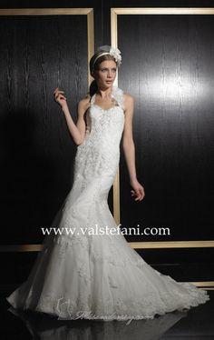 تصميمات فساتين زفاف  من  فال ستيفنى    Designs wedding  Dresses from Val Stefani Designs Robes de mariage de Val Stefani