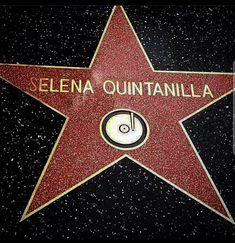 Selena Quintanilla Hollywood Star