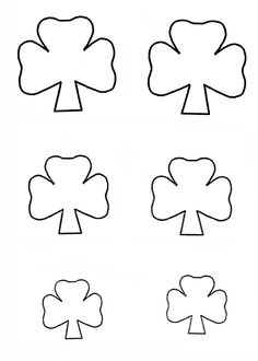 Shamrock template  http://www.easy-child-crafts.com/st-patricks-day-kids-crafts.html