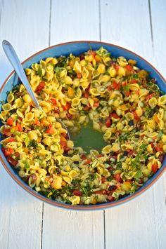 Letní pasta salát, Foto: Thinkfood.cz