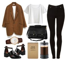 """""""Untitled"""" by hanaglatison ❤ liked on Polyvore featuring Bodum, Jeffrey Campbell, MTWTFSS Weekday, Cheap Monday and Frédérique Constant"""