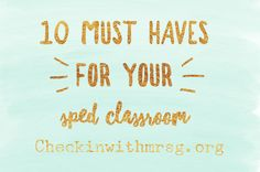 Special education classroom supply list: Ten items you need to set up your sped classroom and how I use them in my classroom special-education-classroom-supply-list Social Skills Games, Teaching Social Skills, Teaching Resources, Teaching Ideas, Life Skills Classroom, Classroom Supplies, Classroom Setup, School Classroom, Book Bins