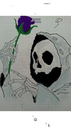 #Dark#teschio#disegno