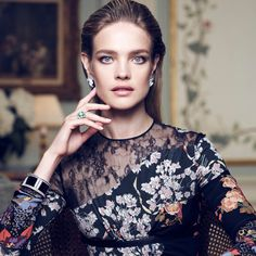 Supermodel Natalia Vodianova looks stunning in a cover story for the January 2016 issue of Vogue Spain, shot by Nico Bustos and styled by Belén Antolín.