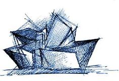 Libeskind's working sketches- The gallery is presenting a surprisingly ambitious exhibition of 83 sketches and drawings by Daniel Libeskind, who oversaw the angled, jutting design of the Denver Art Museum's $110 million Hamilton Building.