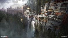 Uncharted 2 - Concept Design by James Paick | Design | 2D | CGSociety