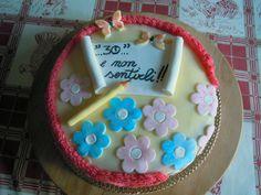 TORTA CON MESSAGGIO  http://creandosicrescecrescendosicrea.tumblr.com/post/20906352421/tortaconmessaggio