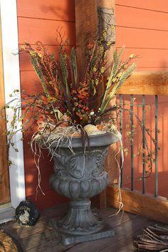 Willow Wisp Cottage Harvest urn