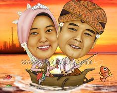 karikatur wajah digital www.kaliaja.com infokaliaja@gmail.com 081239687221 - 29e9d899