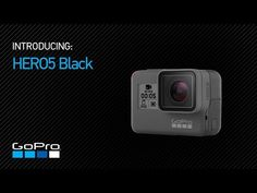 GoPro has released its latest waterproof action camera. With its touchscreen, voice control and advanced video stabilization, the mini camera deli Gopro Hero 5, Wi Fi, Gopro Video, Cheap Cameras, Gopro Accessories, Camera Hacks, Camera Tips, Gopro Camera, Camera Reviews