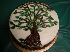 Family Tree Cake 2 by GRAMPASSTORE, via Flickr
