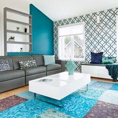 Déclinaison de bleu - Chambre - Inspirations - Décoration et rénovation - Pratico Pratique