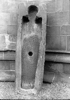 Coffin from Kirkstall Abbey