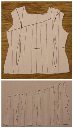 Základy střihové manipulace II - Módnípeklo.cz Sewing, Clothes, Women, Style, Fashion, Outfit, Dressmaking, Clothing, Moda