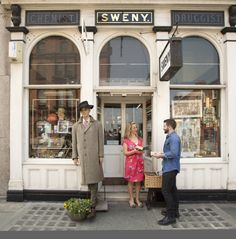 Sweny's Pharmacy on Lincoln Place, the very same chemist where Joyce's most famous creation, Leopold Bloom, buys soap in Ulysses. The soap is still for sale today, along with books and more.