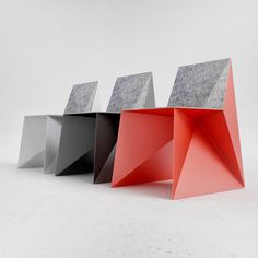 ANGULAR BEAUTY: The Q5 chair by ODESD2