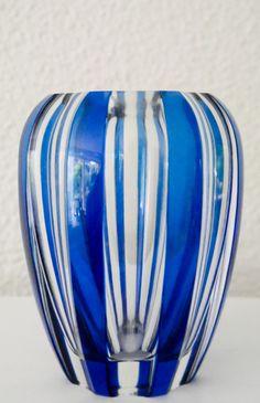 Val Saint Lambert Vase 'Aberdeen' CG834 - Charles Graffart Catalogue 1958.