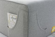 October 2014' Collection #1 sneak peak - light grey cotton with light grey finish.
