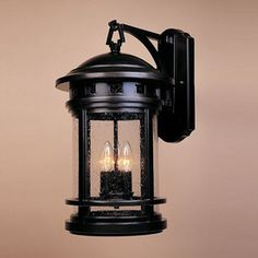 Designer's Fountain Sedona 20-in H Oil Rubbed Bronze Outdoor Wall Light