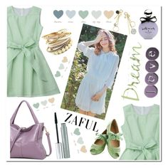 """Zaful"" by aidaaa1992 ❤ liked on Polyvore featuring Kate Spade and Clinique"