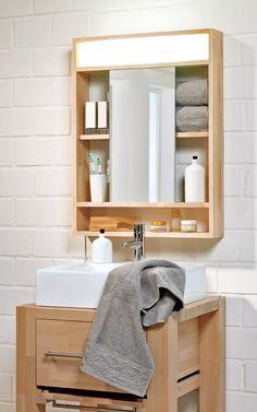 Build Mirror Cabinet Yourself   Selbst.de Badezimmer Spiegelschrank,  Badezimmer Renovieren, Badezimmer Rustikal