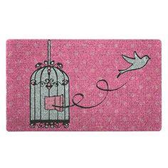 Bombay Duck 100 pour cent naturel Paillasson en fibre de coco en forme de cage à oiseaux, http://www.amazon.fr/dp/B00DNB6TYY/ref=cm_sw_r_pi_awdl_eHAzxbSDB68F4