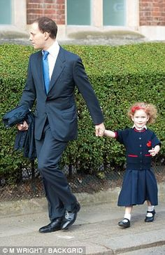 Maude, four, was accompanied by her father Lord Frederick Windsor to the gates of the school on Thursday morning.Lord Windsor has made sure that Maud looked her smartest on her first day. Princess Alexandra, Princess Margaret, Princess Charlotte, Elizabeth Philip, Queen Elizabeth Ii, Prince And Princess, Princess Of Wales, Duke And Duchess, Duchess Of Cambridge