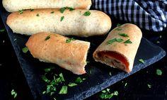 Pizzaruller med skinke og ost…
