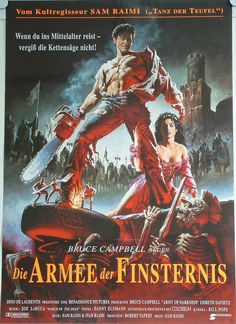 Army Of Darkness, Poster - Germany (Armee der Finsternis) #EvilDead