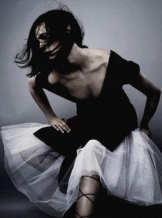 "ninja goddess Drake Burnette in ""Age of Beauty"" by Josh Olins for Vogue UK July 2013"