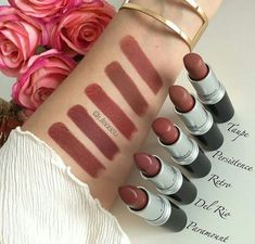 Best Inspiration Mate Makeup: Images found for the query persistence del rio - Make Up Dupe Makeup, Makeup Swatches, Skin Makeup, Makeup Cosmetics, Benefit Cosmetics, Mac Lipstick Swatches Matte, Mac Lipstick Shades, Mac Lipsticks, Mac Lipstick Colors