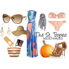 We're using our Miss Sunshine board on Pinterest as a visual reminder of what to bring to St Tropez!