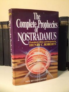 The Complete Prophecies Of Nostradamus Henry Roberts Occult Psychic Clairvoyance
